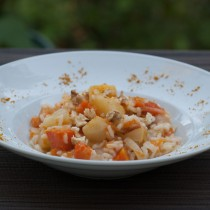 Risotto courges noix