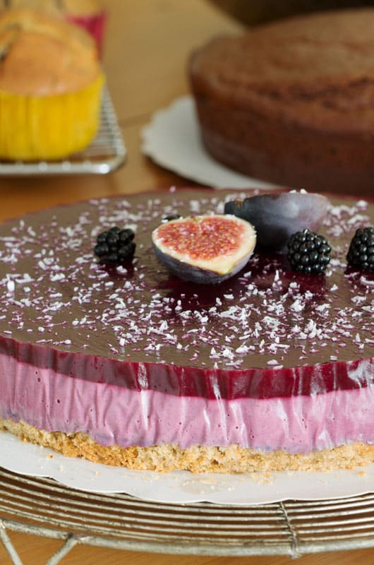 Gateau aux fruits vegan