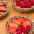 Tartelettes healthy et gourmandes aux fruits rouges