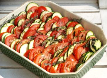 Tian de légumes à la provençale (vegan, sans gluten)
