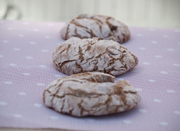 Petits pains à la châtaigne et graines de lin (vegan)