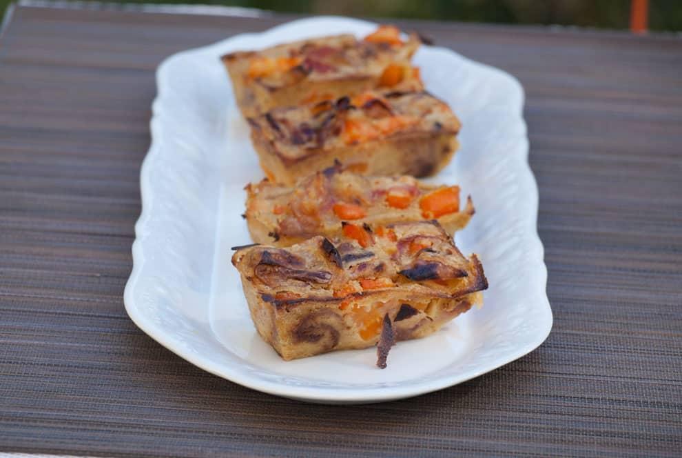 Clafoutis carotte