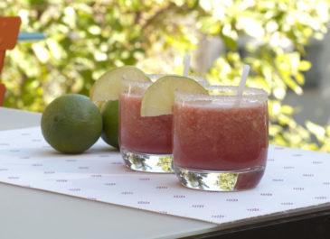 Smoothie pastèque et citron vert (vegan, sans gluten)