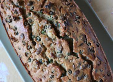 Cake au sarrasin, courgette et tomates séchées (vegan, sans gluten)