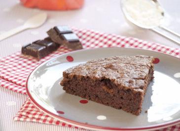 Moelleux au chocolat et à l'huile d'olive (vegan)