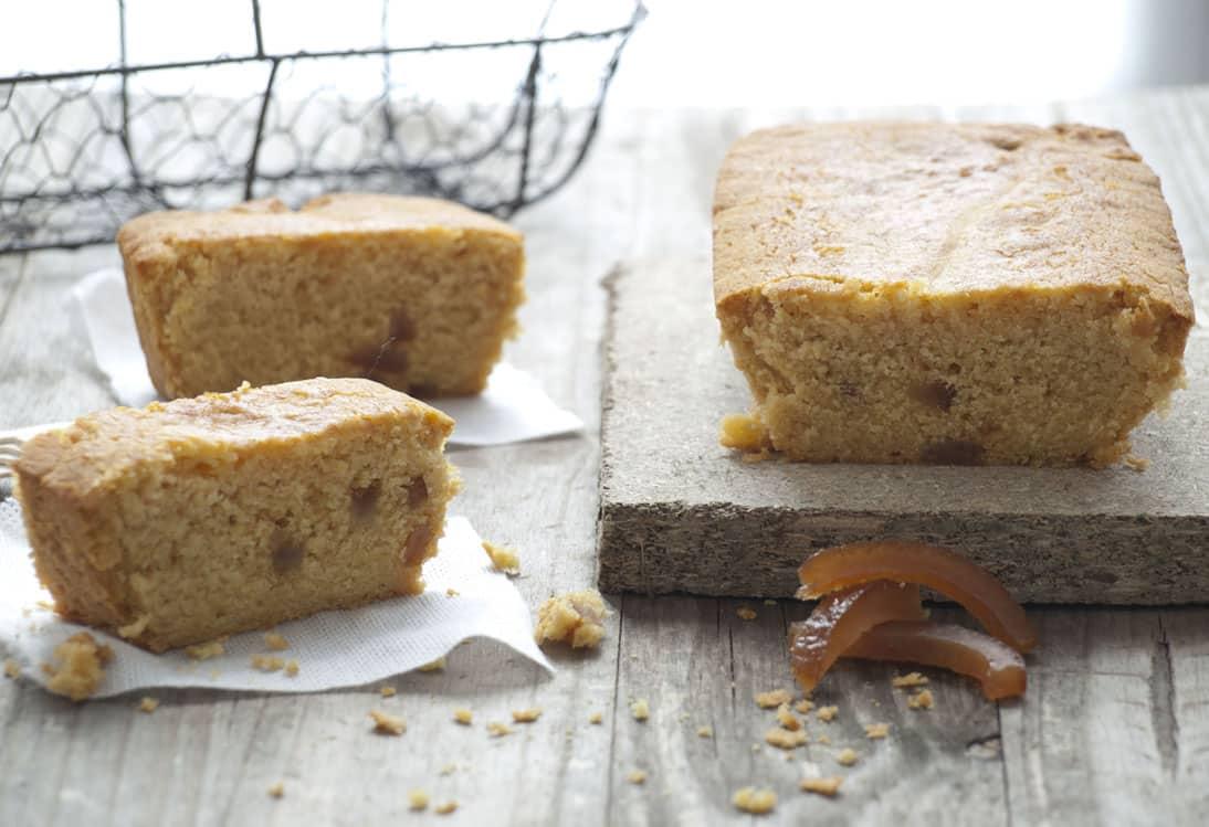 Cake à la farine de maïs