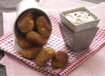 Nuggets de tofu et patate douce (vegan)