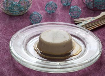 Flans sans œuf à la vanille et sirop d'érable (vegan)
