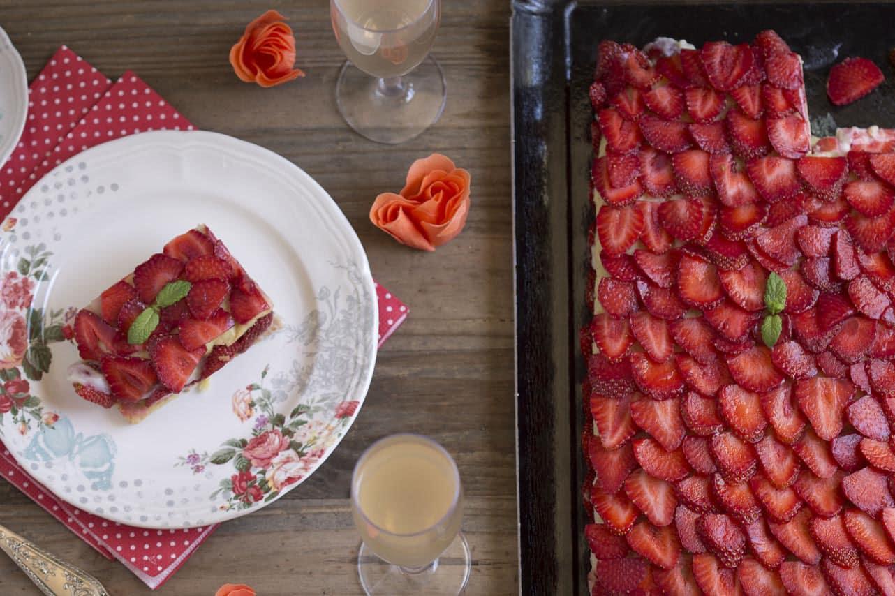 fraisier vegan