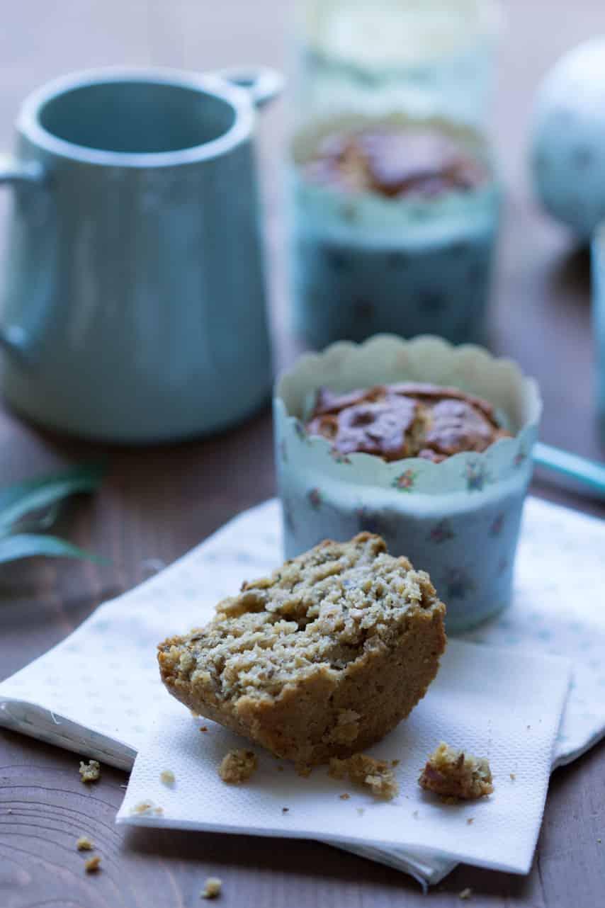 Muffins sans gluten aux graines