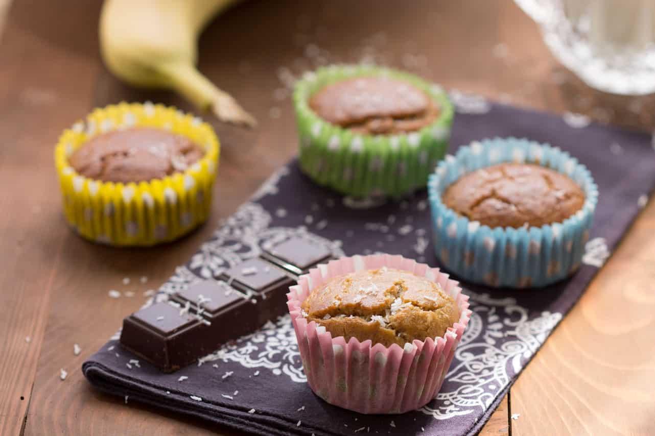 Muffins sans gluten banane 2