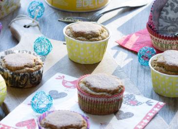 Muffins sans gluten au combava et graines de pavot (vegan)