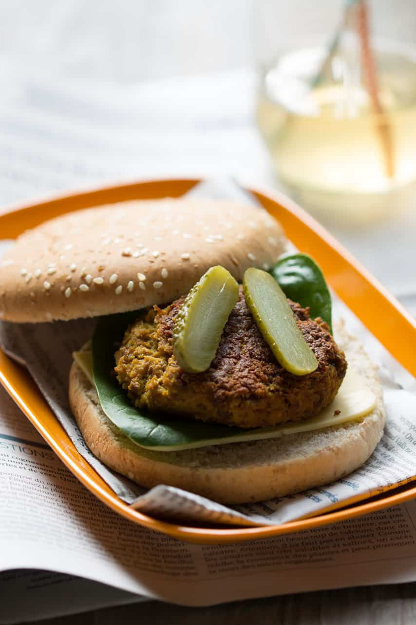 Cheeseburger vegan 2