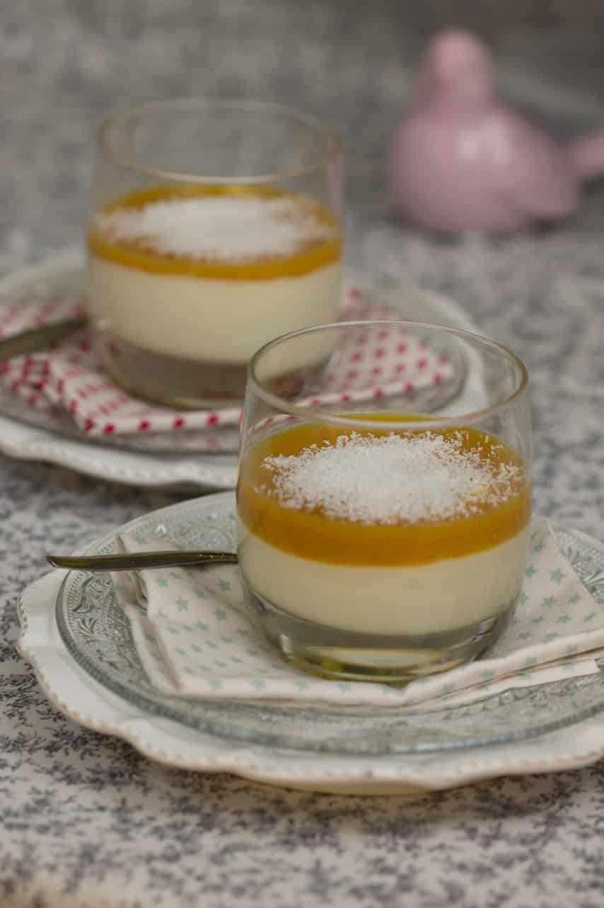 Crèmes au chocolat blanc