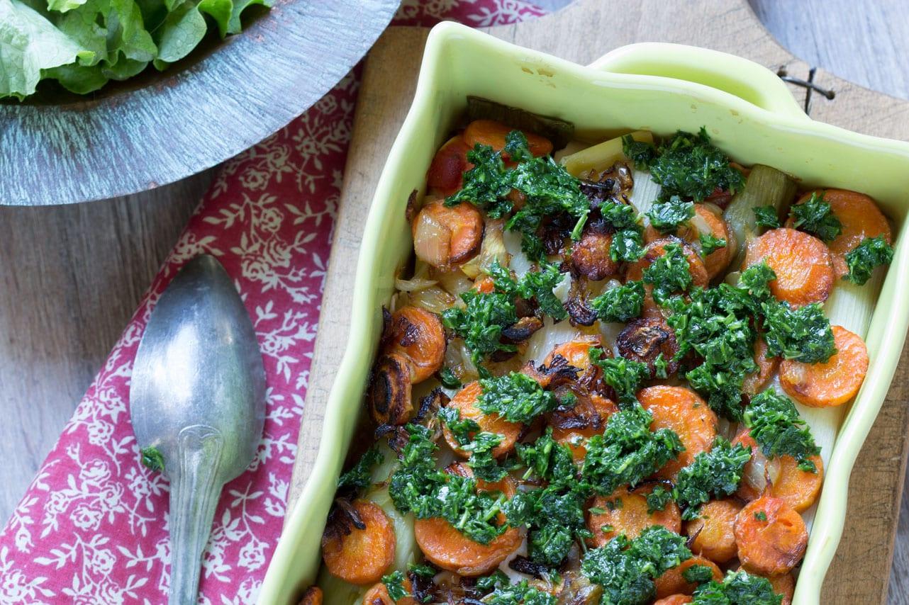 Lasagnes aux légumes 2
