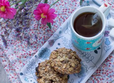 Cookies aux flocons sans farine (vegan)