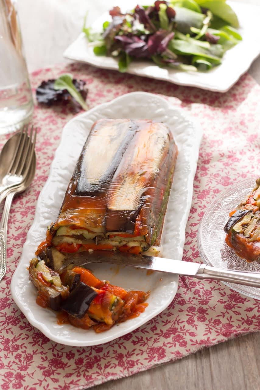 Terrine de légumes à l'agar-agar 2
