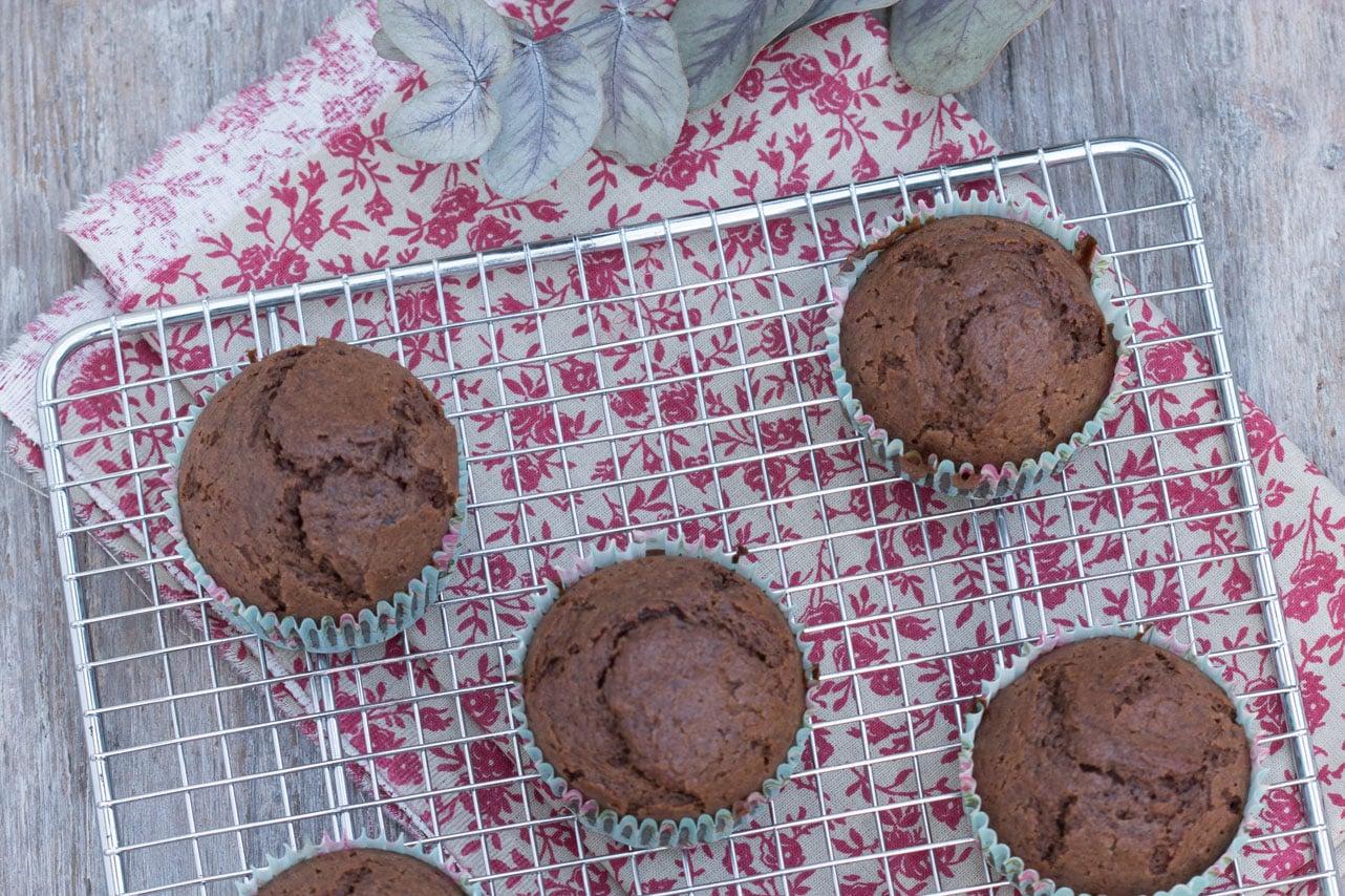 Muffins sans gluten au chocolat