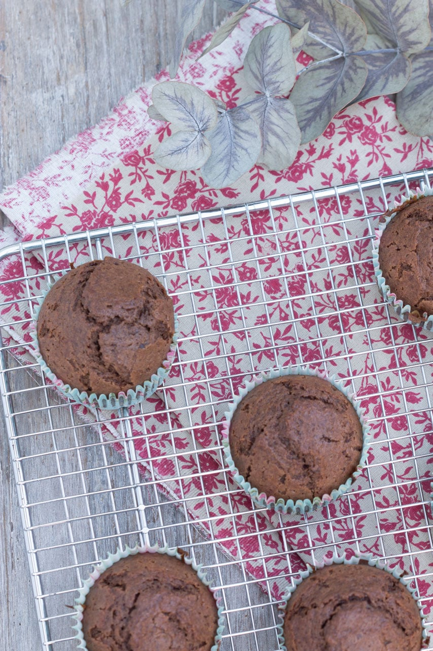 Muffins moelleux banane