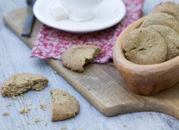 Sablés façon Montecaos sans gluten (vegan)