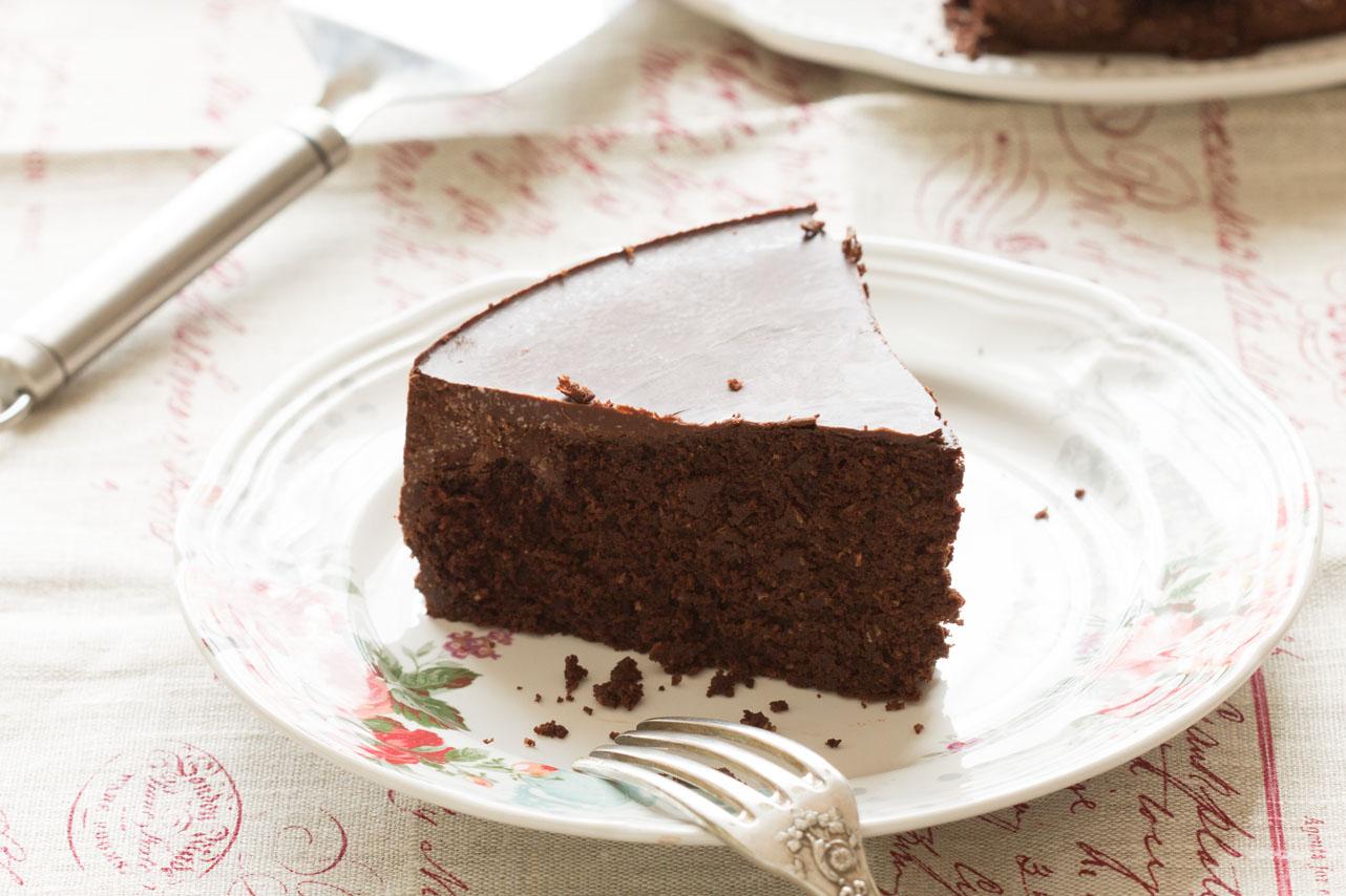 Gâteau au chocolat sans gluten 2