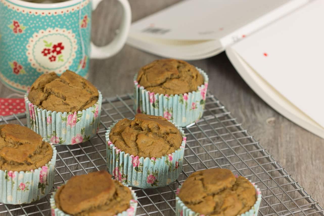 Muffins sans œuf à l'avoine