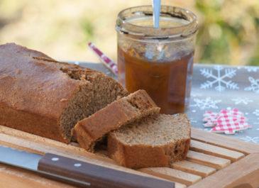 Pain d'épices sans miel, au sirop d'érable (vegan)