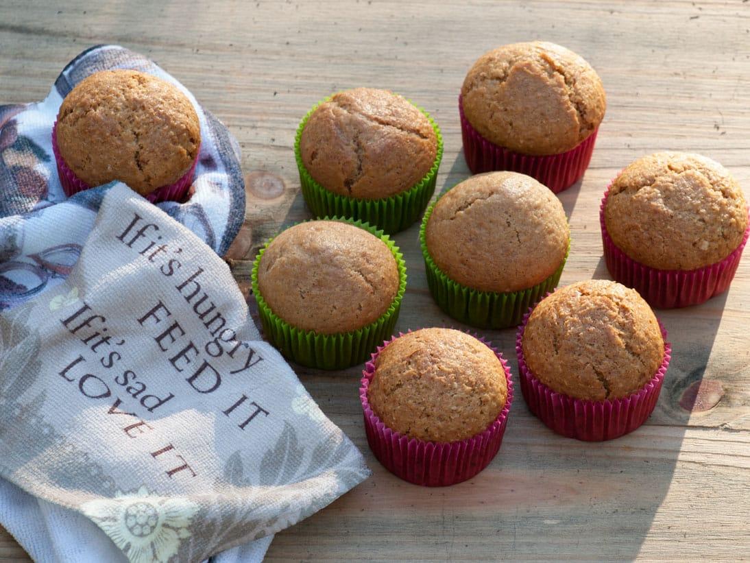 muffins végétaliens