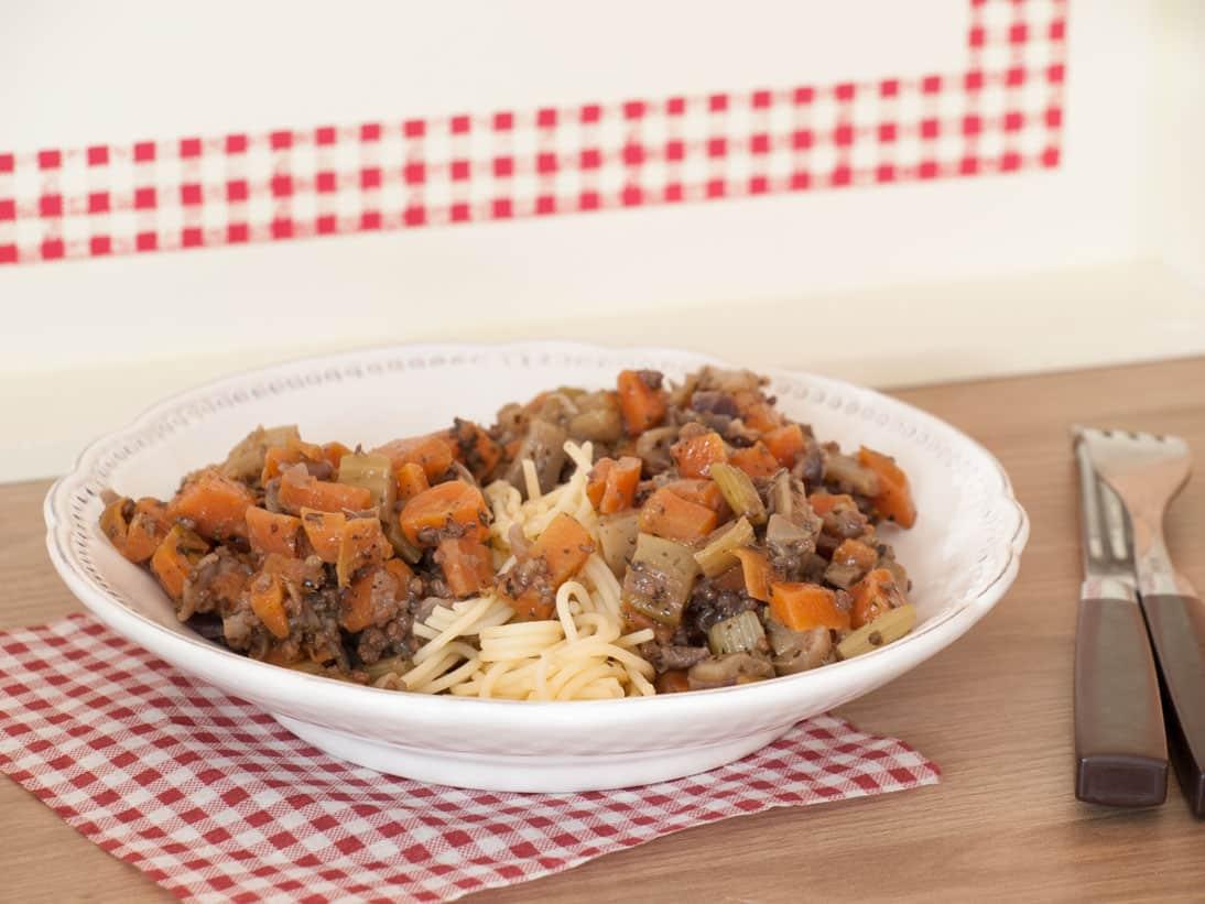 Spaghetti aux carottes