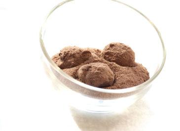 Truffes au chocolat faciles (vegan)