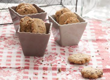 Biscuits salés sans gluten au quinoa et à l'amarante (vegan)