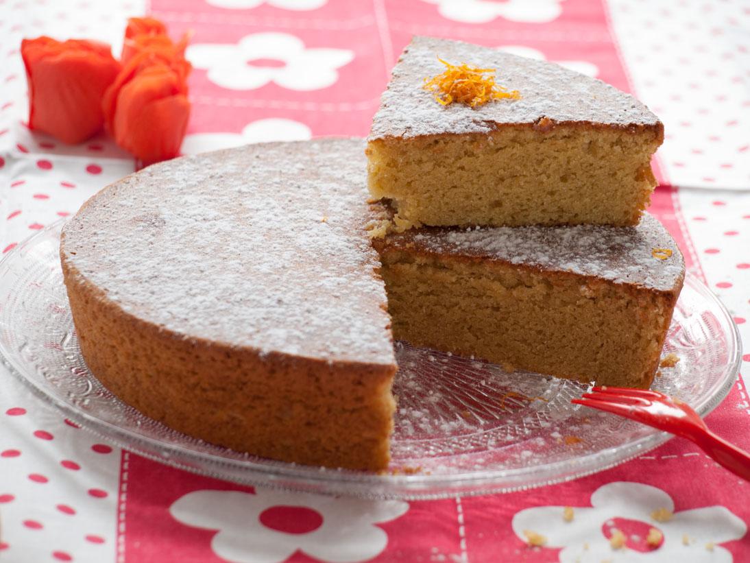 Gâteau à la farine de pois chiche