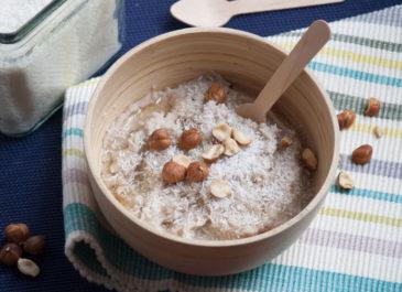 Porridge sans gluten aux flocons de sarrasin (vegan)