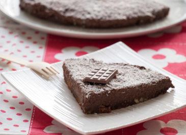 Cheesecake au chocolat et à la noix de coco (vegan)