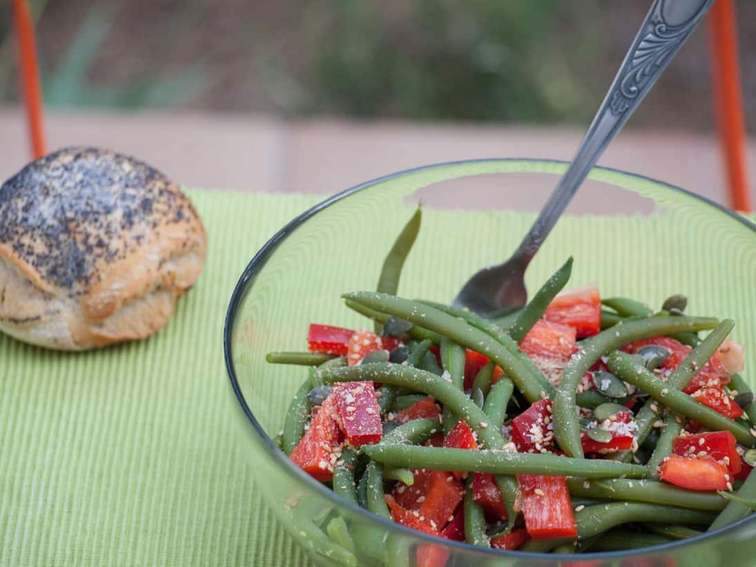 Salade de haricots verts 2
