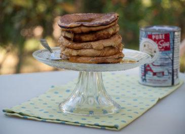 Pancakes végétaliens au lait d'avoine (vegan)
