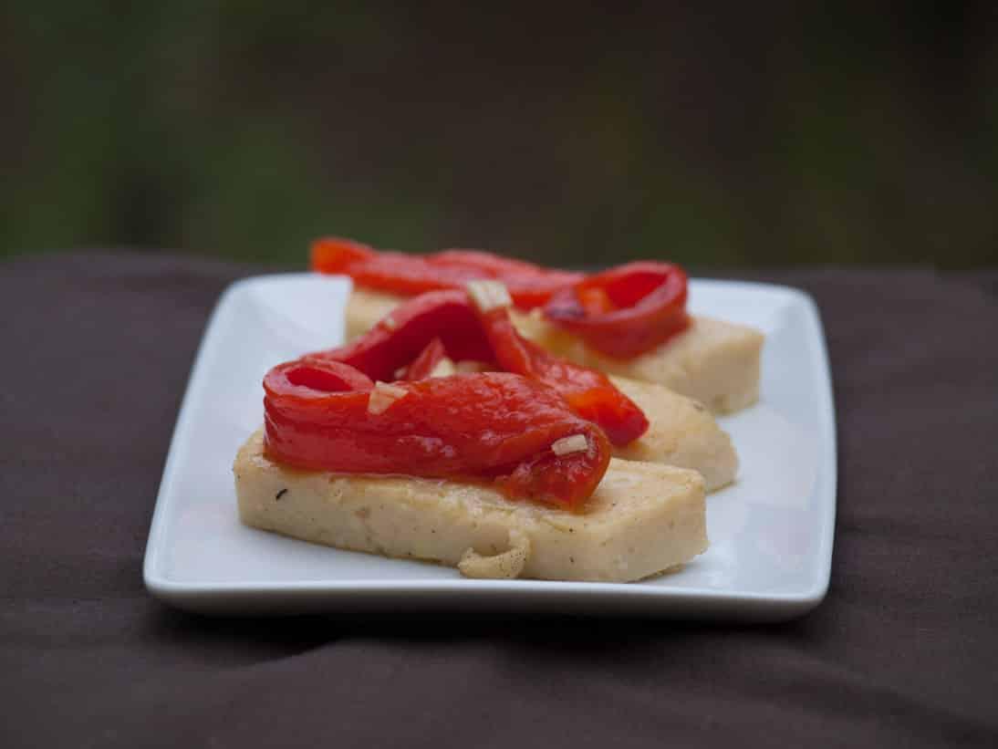 Panissesaux poivrons
