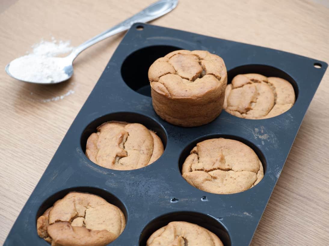Muffins au tofu soyeux