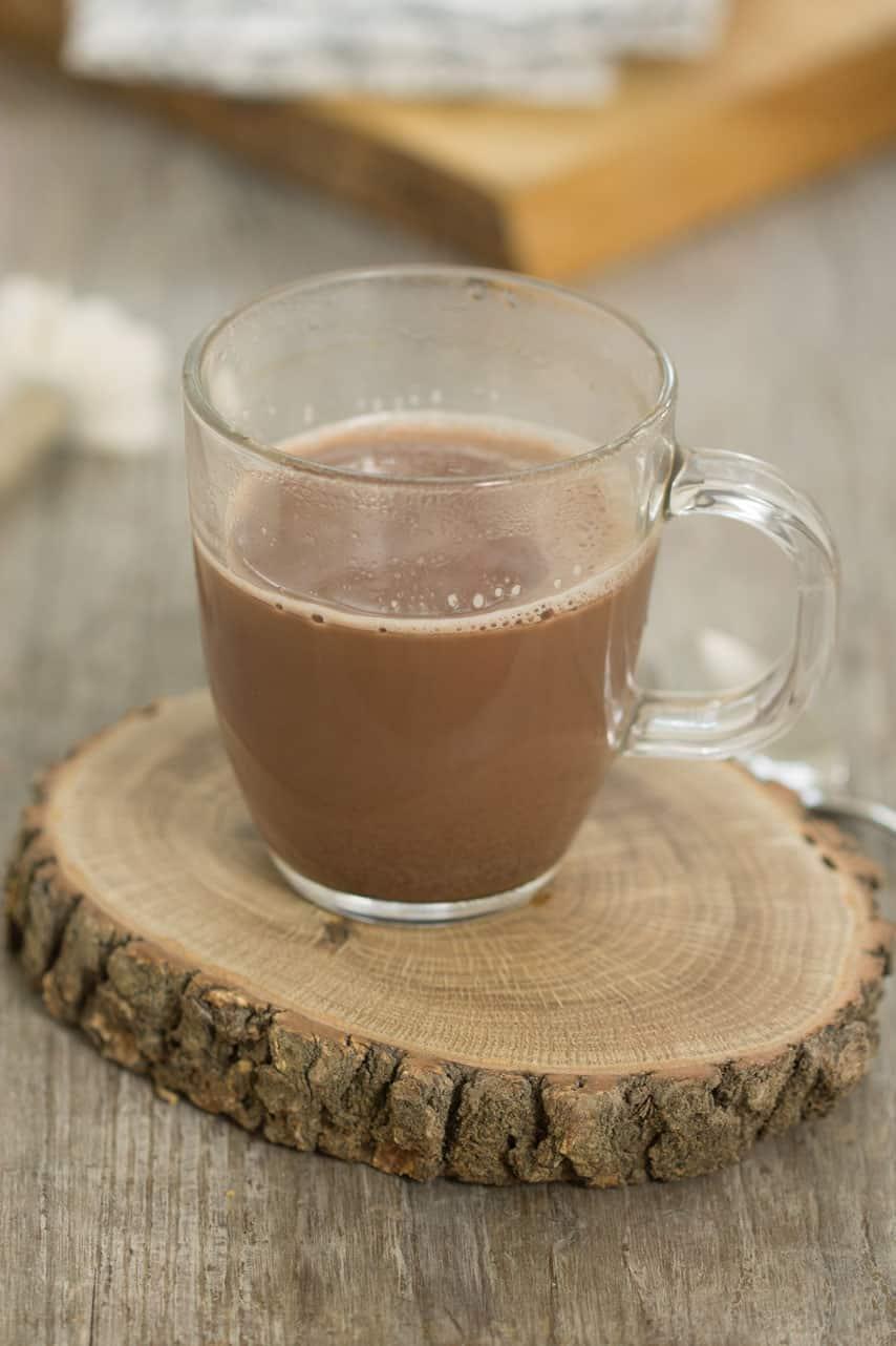 Chocolat chaud sans lactose