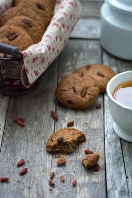 cookies sans œuf sans gluten 3