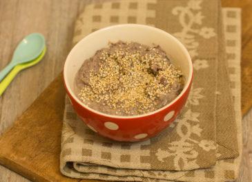 Houmous de haricots azuki (vegan)