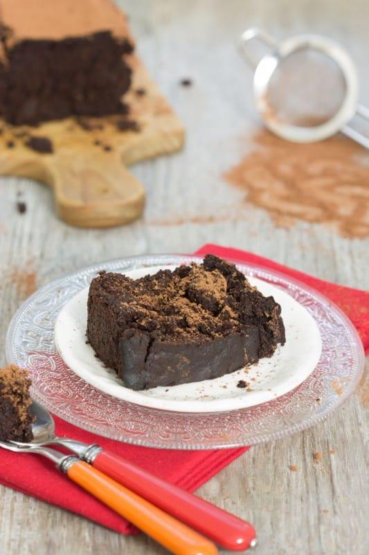 Fondant au chocolat et à la betterave