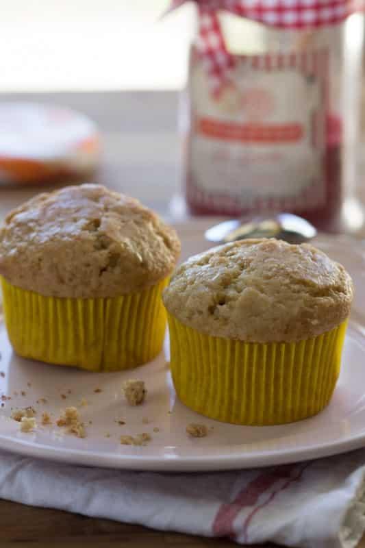 Muffins moelleux à l'amande