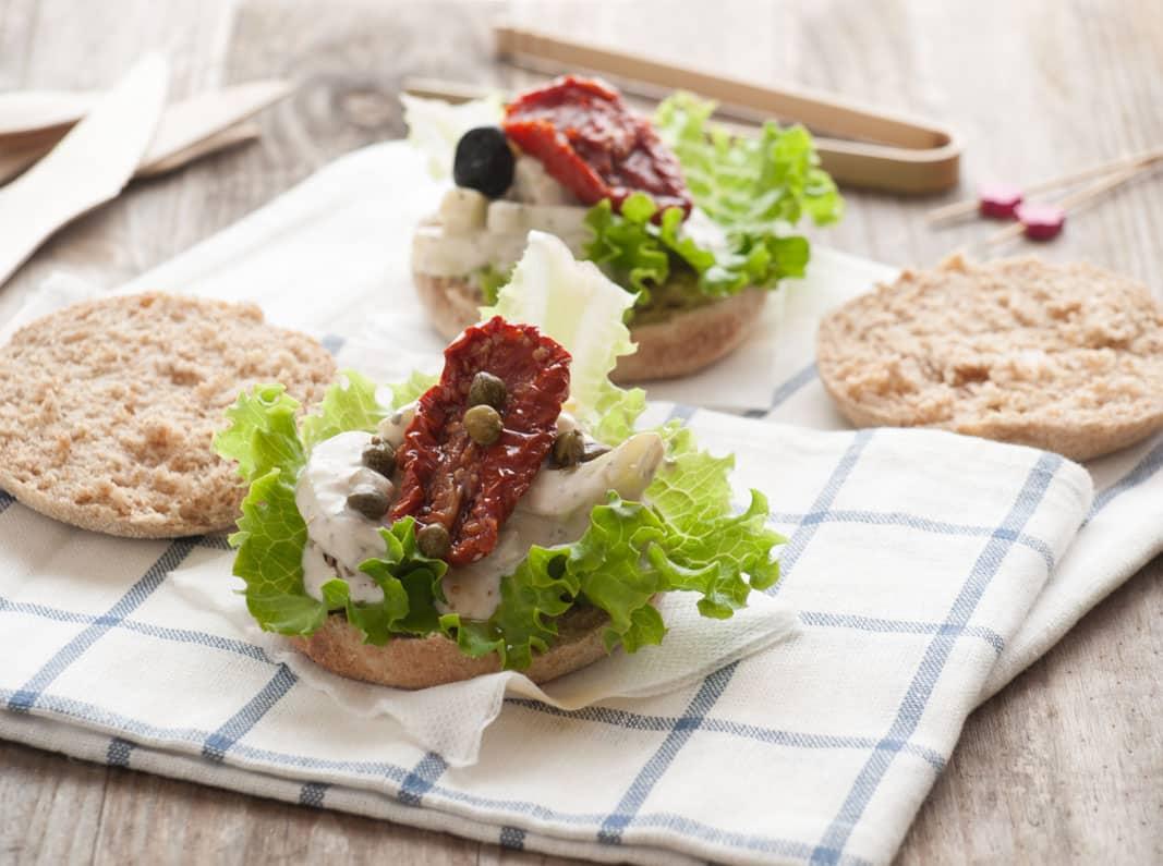 Sandwichs au concombre
