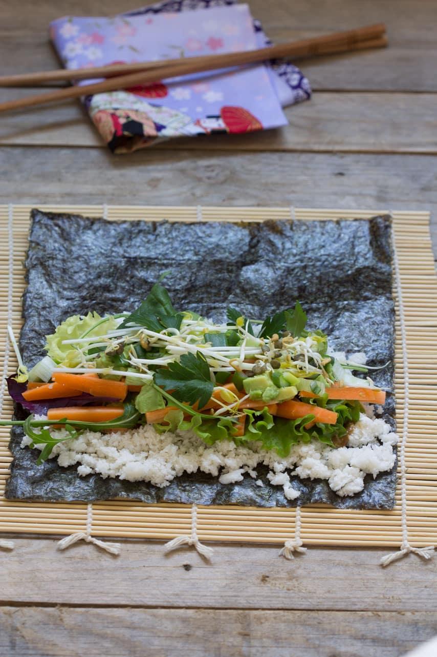 Makis aux légumes 2