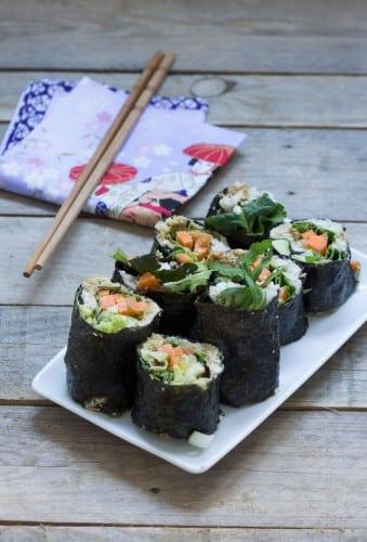 Makis aux légumes (vegan) - Au Vert avec Lili
