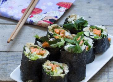 Makis aux légumes (vegan)