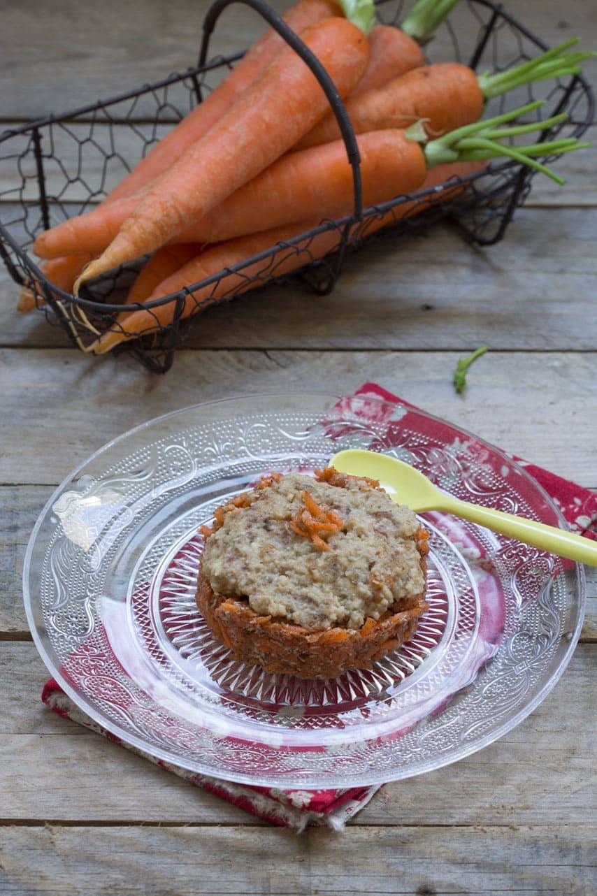 Vegan Carrot Cake Au Vert Avec Lili
