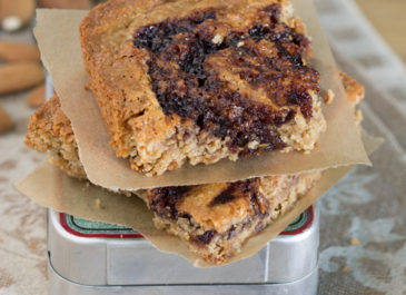 Blondies vegan à l'amande et tonka (vegan)