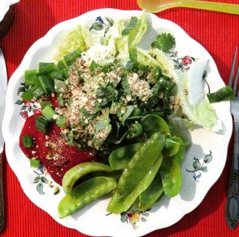 Salade du panier